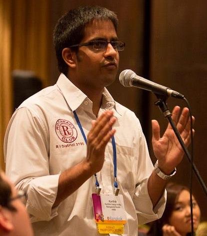 Karthik Rotaract